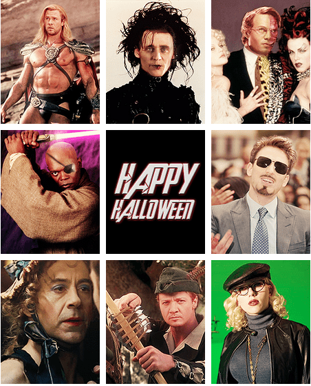 funny,holiday,halloween,The Avengers,robert downey jr,chris evans,chris hemsworth,tom hiddleston