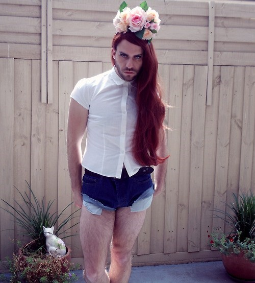 lana del rey,cross dressing,halloween costume