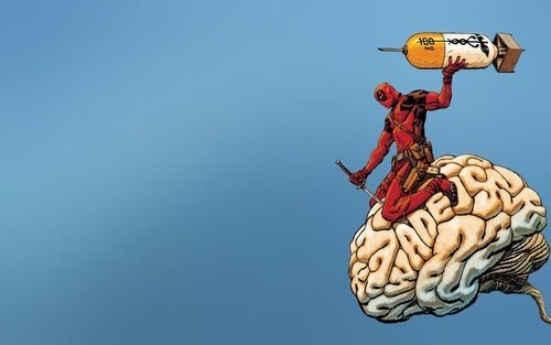 deadpool wtf nuke brain - 6665884416