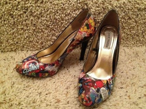 shoes marvel comics fashion - 6665891840