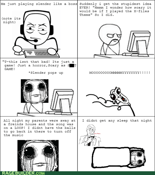 scary numb computer soon pwning noobz x files true story slenderman - 6665910784