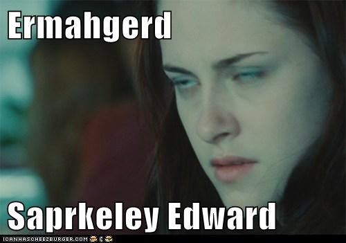 twilight Ermahgerd edward cullen Movie - 6666044928
