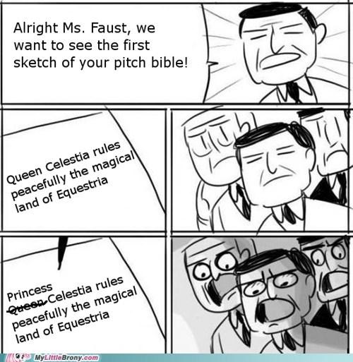 meme,queen,princess celestia,evvvviiilll