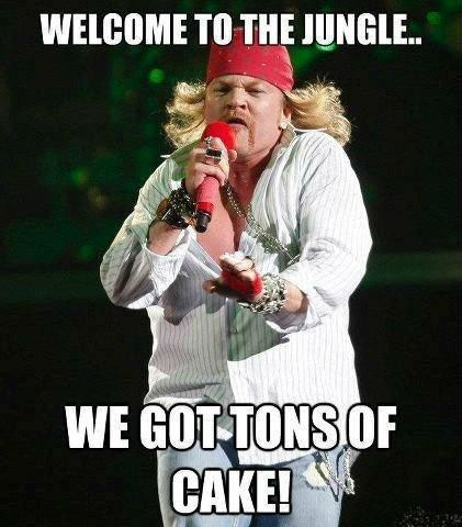 axl rose fat welcome to the jungle guns n roses - 6666354944