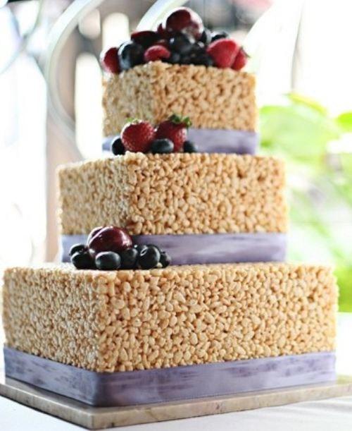 cake rice krispie treats no baking berries - 6666455040
