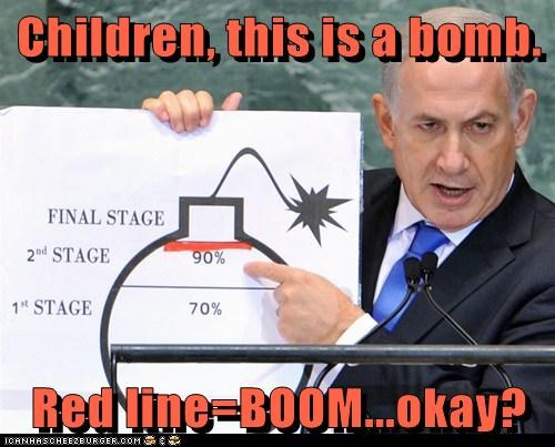 Children, this is a bomb.  Red line=BOOM...okay?