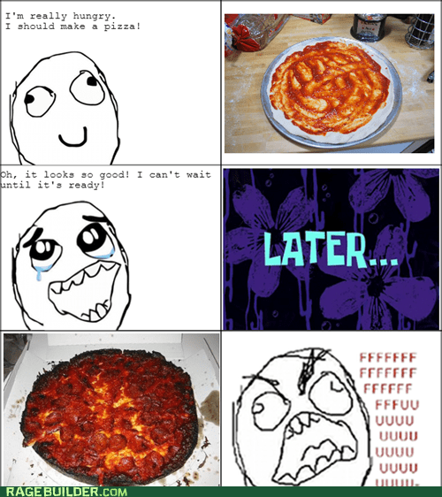 cooking pizza burned fu guy noms - 6666787328