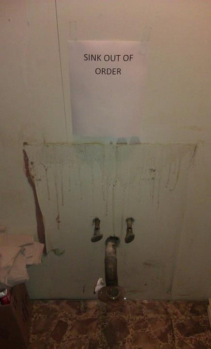 out of order fixed repairs sink no duh genius you-don-t-say you dont say - 6666814208