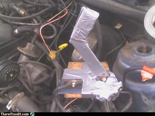 duct tape frankenstein solenoid engine car engine - 6666956288