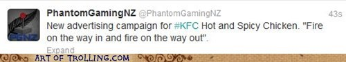 kfc,chicken,food,pooptimes,twitter