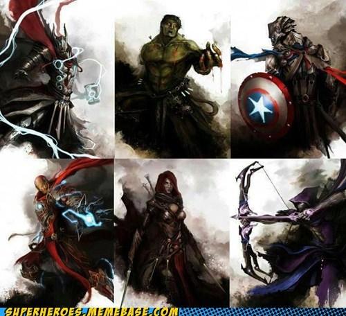 avengers art gothic - 6667942400