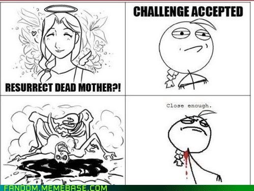 fullmetal alchemist,rage comic,Close Enough
