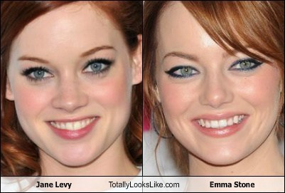 funny,actor,celeb,TLL,jane levy,emma stone