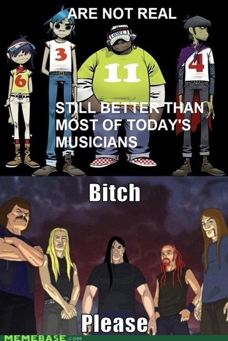 As if Dethklok is Unworthy...