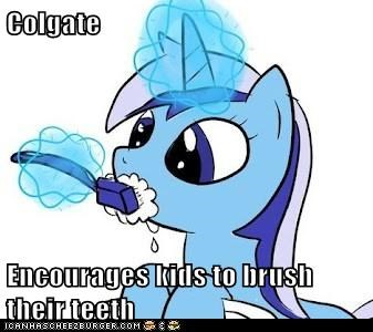 Colgate  Encourages kids to brush their teeth
