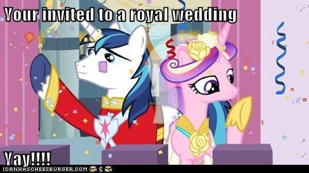 Your invited to a royal wedding   Yay!!!!