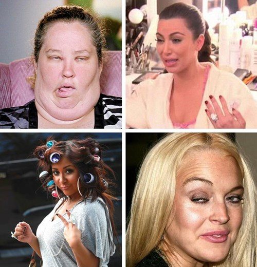 funny TV reality tv actor celeb mama june kim kardashian snooki lindsay lohan - 6670146560