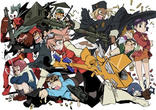 anime FLCL fooly cooly - 6670242304