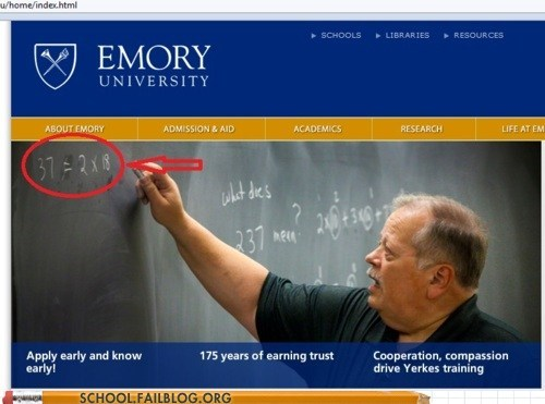 math,emory university,multiplication,majors