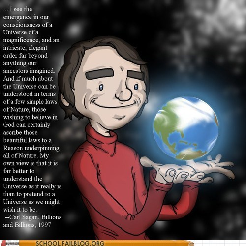 carl sagan Like a Boss Words Of Wisdom billions and billions - 6670352896