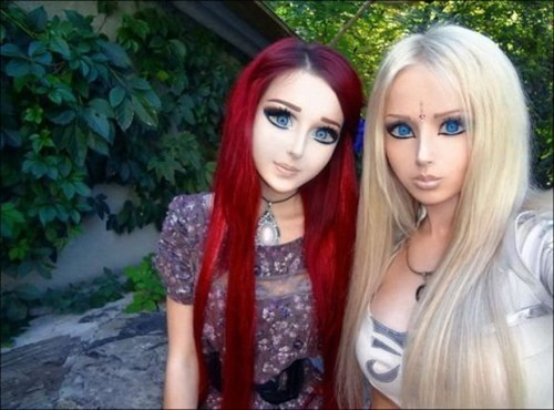 anime girl,human barbie,creepy