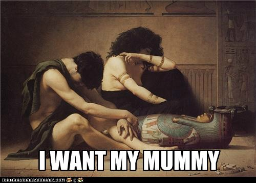 egyptians,mummy,dramatic,crying