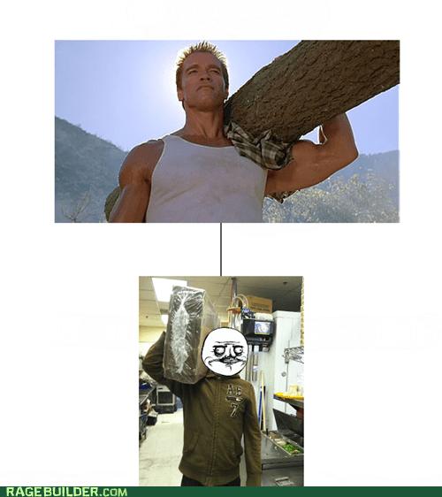 me gusta lumberjack Arnold Schwarzenegger - 6672660992