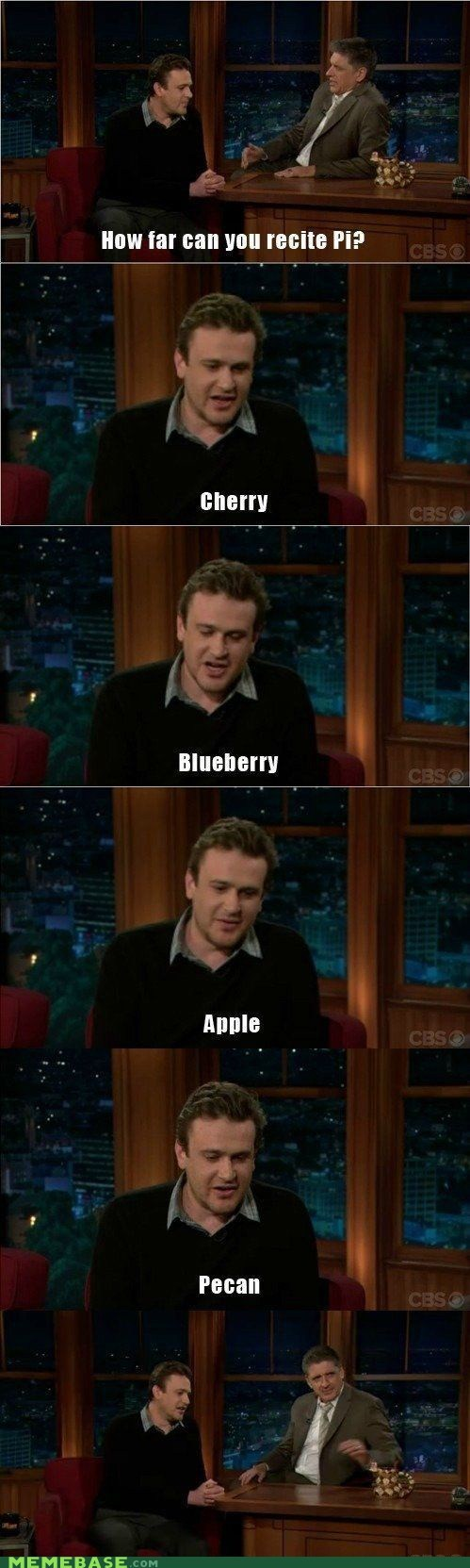 pi,pie,jason segel,interview,TV