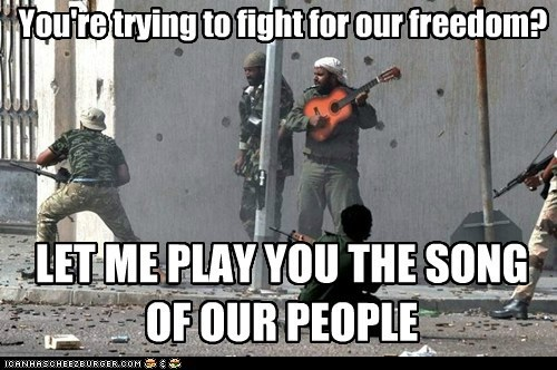 guitar freedom fight let me play you the song of my people Arab Spring - 6673213184