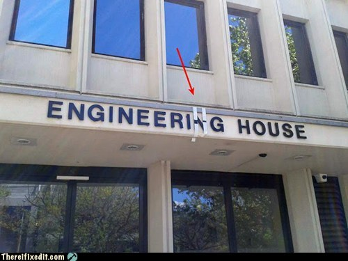 sign fix,engineering,duct tape