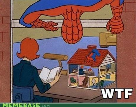 Inception Spider-Man wtf - 6673793536