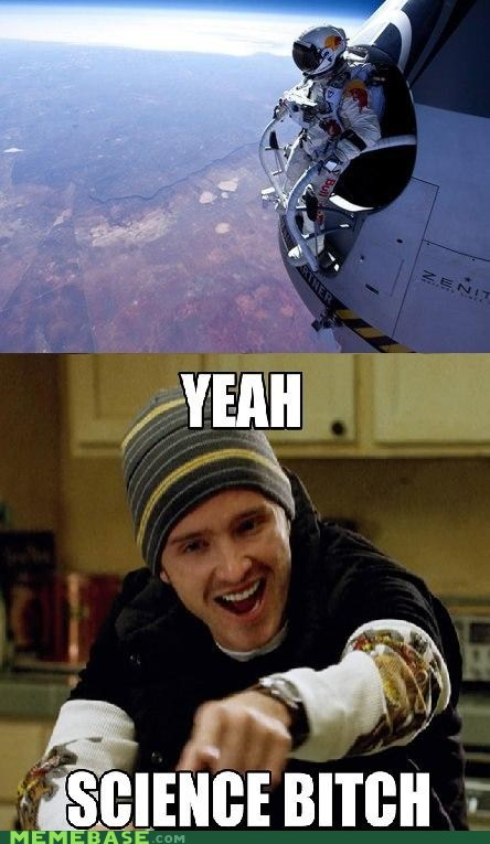 yeah science breaking bad jessie pinkmann space jump - 6673876736