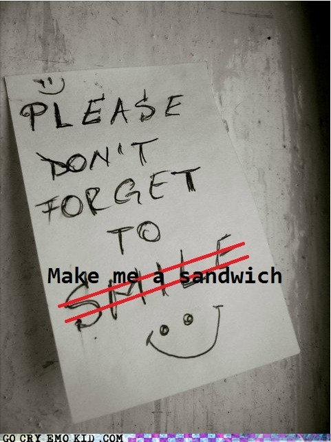 sandwich,hipster edit,smile,dont-forget