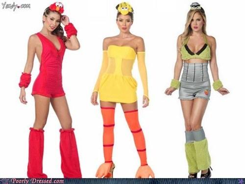 halloween costumes sesame street sexy costumes - 6674416640