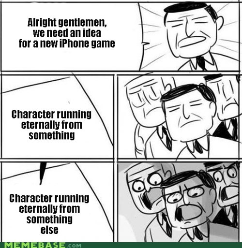 all right gentlemen iphone games running - 6674478848