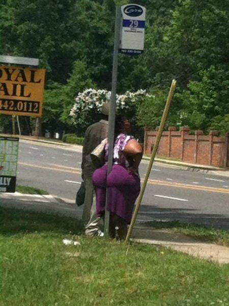 butt,bus stop