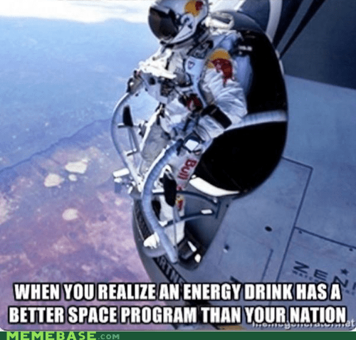 space,red bull,energy,space jump