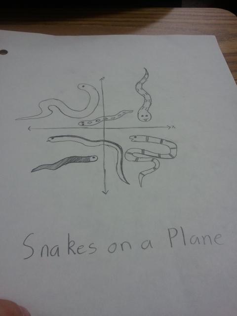 planes snakes on a plane math pun - 6674557184