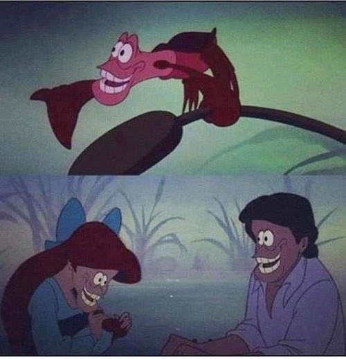 The Little Mermaid sebastian face swap - 6674611968