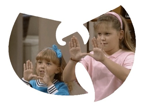 funny Music celeb TV 90s nostalgia full house Wu-Tang Clan - 6674630912