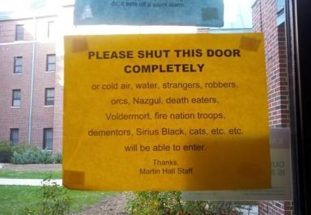 dangerous dorm shut the door dorms - 6674650624