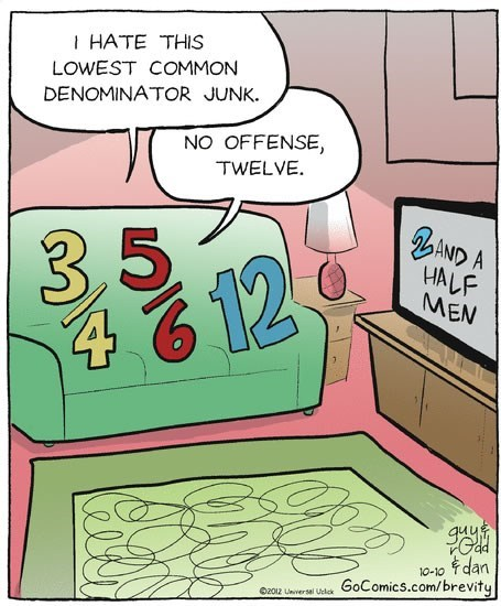 2 and a half men offense taken lowest common denominator no offense math - 6674661120