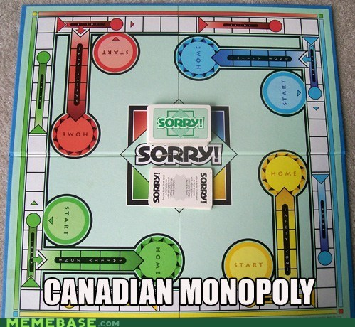 monopoly Canada sorry - 6674695936
