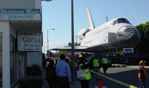 los angeles,space shuttle,endeavour,space shuttle parade