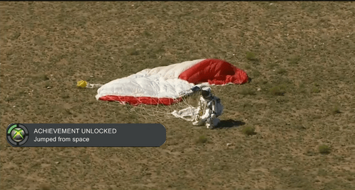 felix baumgartner achievement freefall - 6674885632
