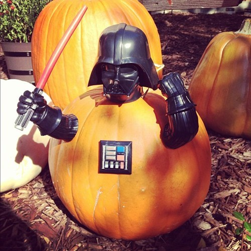 darth vader star wars halloween pumpkins jack o lanterns