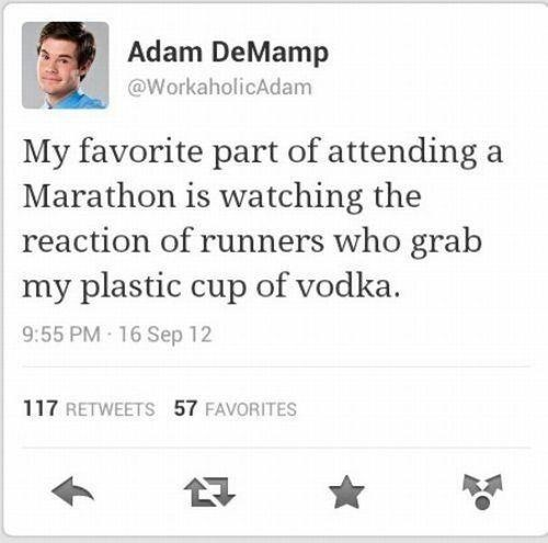 hydration,adam demamp,twitter,vodka