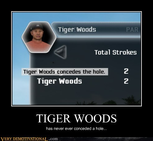 Tiger Woods,conceded,hole,wtf