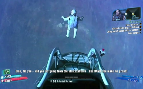 red bull felix baumgartner fall damage borderlands 2