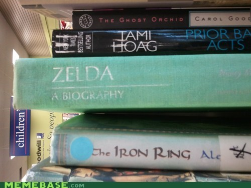 zelda,biography,books